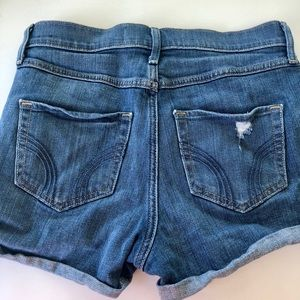 Hollister Shorts - High waisted jean shorts